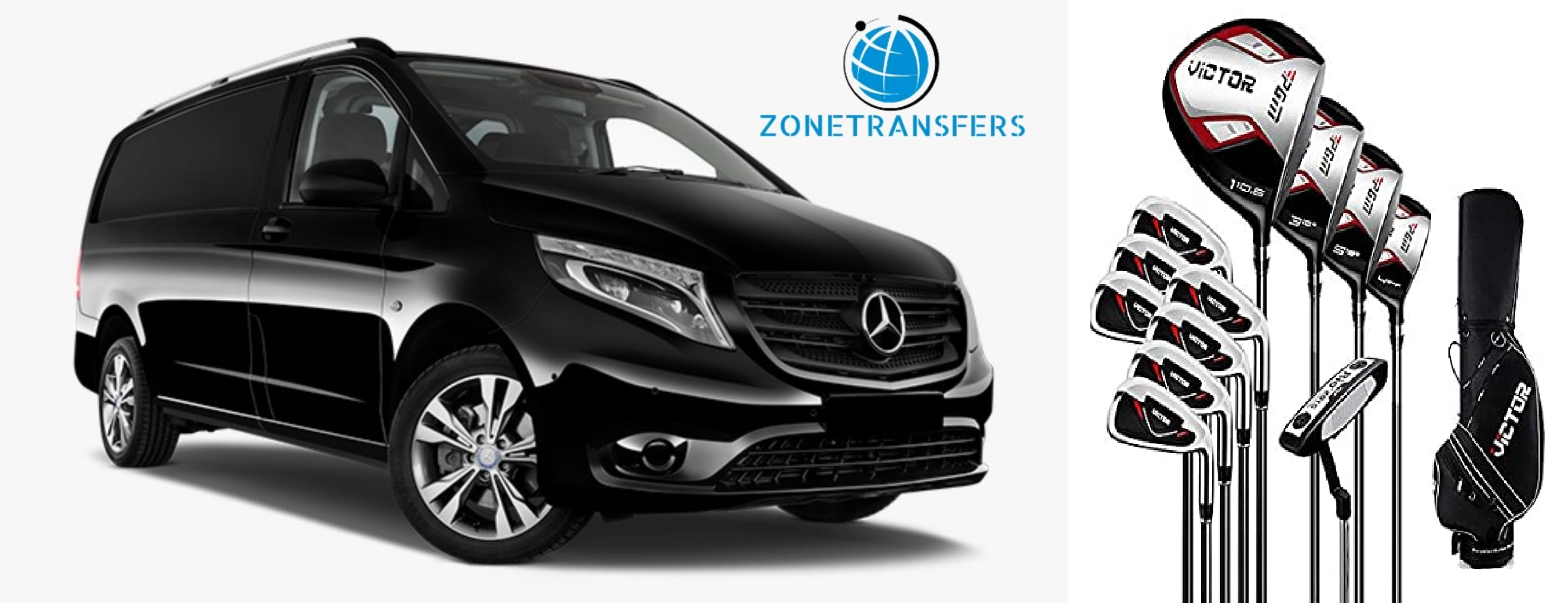 Transfers to golf courses in Spain. Golf Club transport