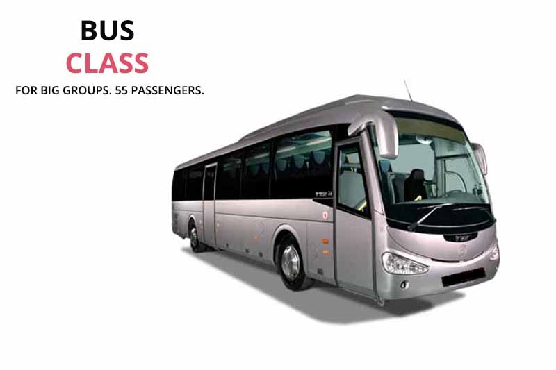 Private bus and minibus rental with driver in Cordoba