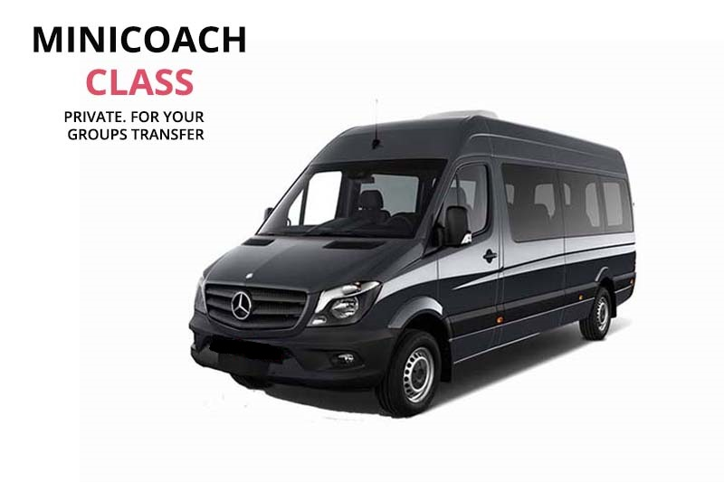 Minibus rental with driver in Florence