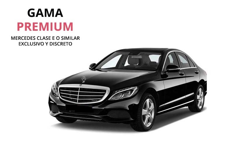 Private car rental with luxury driver in Mercedes E class in Cordoba